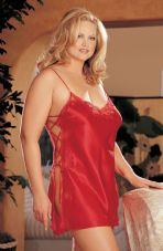 Intimate attitudes Sexy Red Chemise